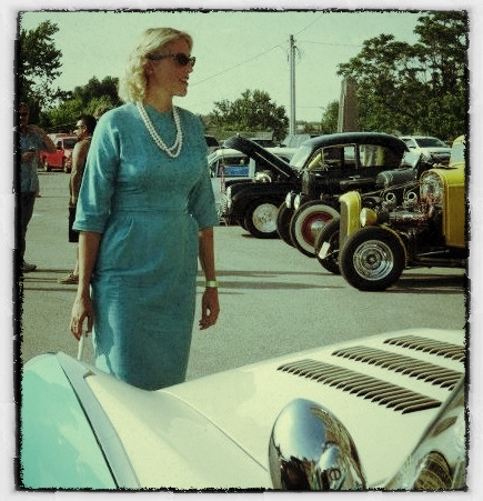 Flashback 1950's dress