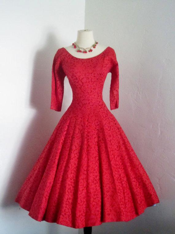 Jonathan logan 1950's red